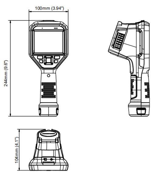DS-2TP21B-6VF/W - wymiary kamery termowizyjnej